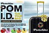 Pomchies POM-ID Luggage Tags: Pom Pom