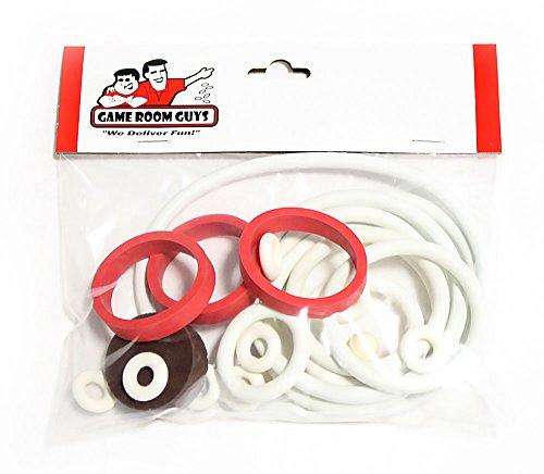 - Game Room Guys Gottlieb Solar Ride Pinball White Rubber Ring Kit