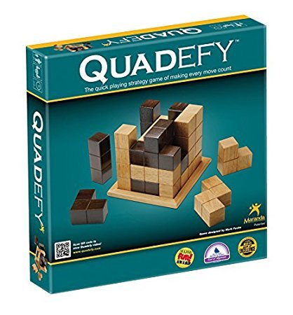 Maranda Enterprises Quadefy Classic - The Quick Playing Strategy Game of Making Every Move Count!