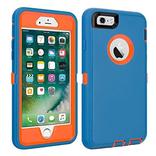 Shockproof Protective Anti shock Shatter resistant blue orange
