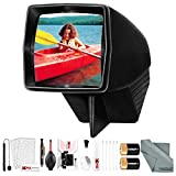 Pana-Vue #1 Lighted 2x2 Slide Film Viewer for 35mm (6560) + Deluxe Cleaning Kit + Batteries
