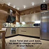 SleekLighting - GU24 23Watt 2700K 1600lm 2 Prong