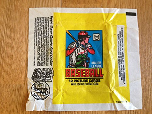 TOPPS 1979 BASEBALL BUBBLE GUM & TRADING CARD WRAPPER NICE GRADE Bubble Gum Trading Cards