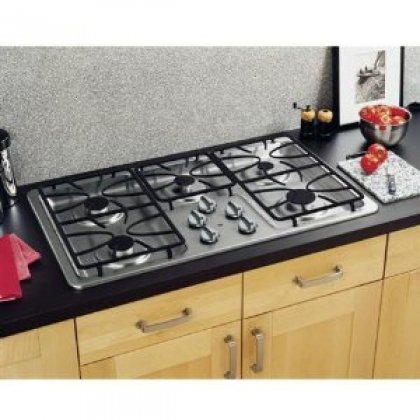 stainless steel 36 gas cooktop - 9