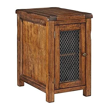 Signature Design by Ashley T830-7 Chair Side End Table Medium Brown