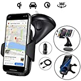 Wireless Car Charger - Zale 10W Wireless Charger Car Mount, Air Vent Phone Holder, QC3.0 Fast Charging Adapter Included, for iPhone X/8/8 Plus|Samsung Galaxy S9/8/7/Note 8 and All QI-Enabled Devices