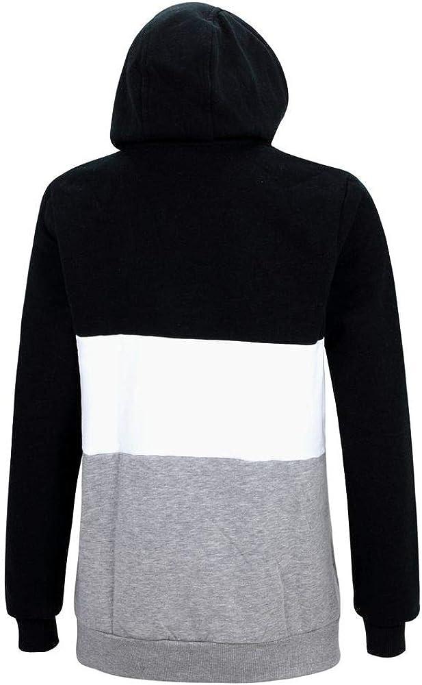 New Era Oakland Raiders Black NFL Color Block Hoody Sweater Hoodie Herren Men