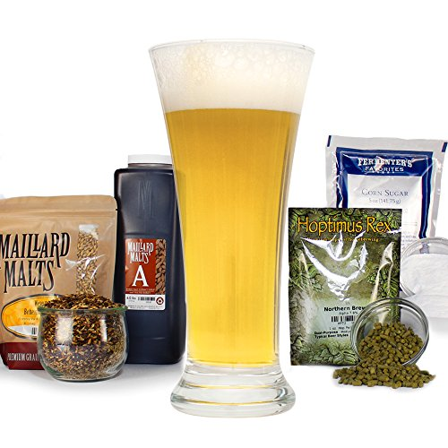 Czech Pilsner With Specialty Grains HomeBrewing Beer Brewing Recipe Kit - Malt Extract, Light Pale Lager Ingredients (5 ()