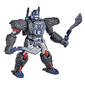 Best Epic Trends 51TYnrBLM9L._SS300_ Transformers Toys Generations War for Cybertron: Kingdom Voyager WFC-K8 Optimus Primal Action Figure - Kids Ages 8 and…