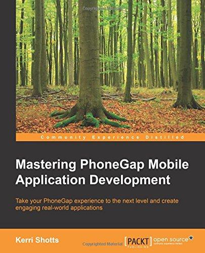 Mastering PhoneGap Mobile Application Development Front Cover