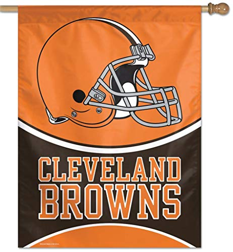 (NFL Cleveland Browns 27-by-37-Inch Vertical Flag)