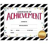 Creative Teaching Press Bold & Bright Certificate of Achievement Large Award (2564)