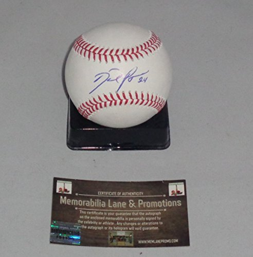 Baseball Autographed Price David (David Price autographed Baseball RED SOX RAYS COA Memorabilia Lane & Promotions)