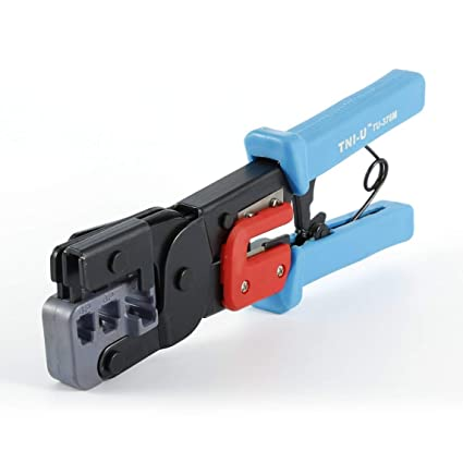 Footprintse Alicates;Pelacables;Alicates que prensan,TU-376 Modular Telecom Crimping Tool