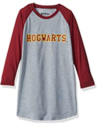 Intimo Big Girls Harry Potter L/s Hogwarts Raglan Night Gown