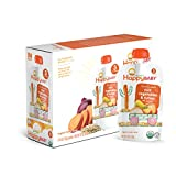 Happy Baby Organic Stage 3 Baby Food, Hearty Meals, Root Vegetables & Turkey with Quinoa, 4 oz (Pack of 16)