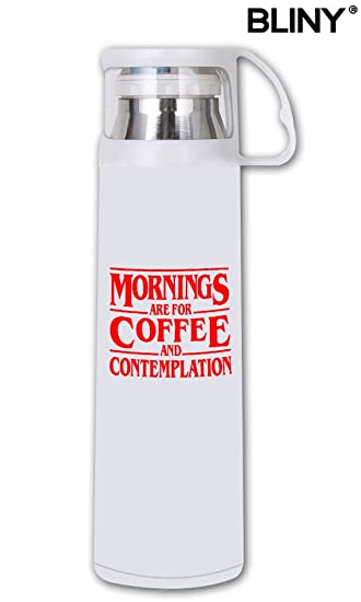 Amazoncom Bliny Funny Mug Quote Mornings Are For Coffee And