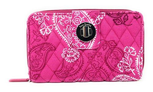 Vera Bradley Turnlock Wallet (Stamped Paisley)
