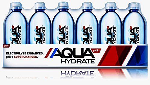 AquaHydrate Electrolyte Enhanced Water / Ph9 Plus, 16.9  Fl. Oz (Pack of 24) by AQUAhydrate (Image #2)