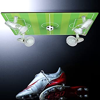 Fussball Lampe Fur Die Decke Mit 3d Ball Led Taschenlampe
