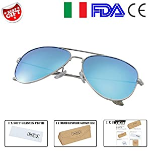 ITDOCO Retro 40s Polaroid Sunglasses with UV400 Protection