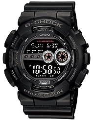 Casio GD100-1B Mens G-Shock World Timer Digital Dive Watch