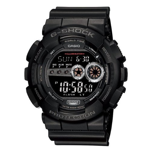 Casio GD100 1B G Shock World Digital
