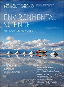 Book Environmental Science for a Changing World