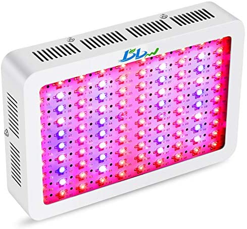 Bigbigworld 1000W LED Grow Light Full Spectrum,High PAR Value Triple-Chips Indoor LED Plant Growing Lamp with UV IR for Greenhouse and Hydroponic All Indoor Plants 1000watt