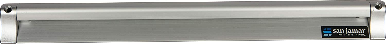 San Jamar CK6518A Anodized Aluminum Slide Check Rack, 18