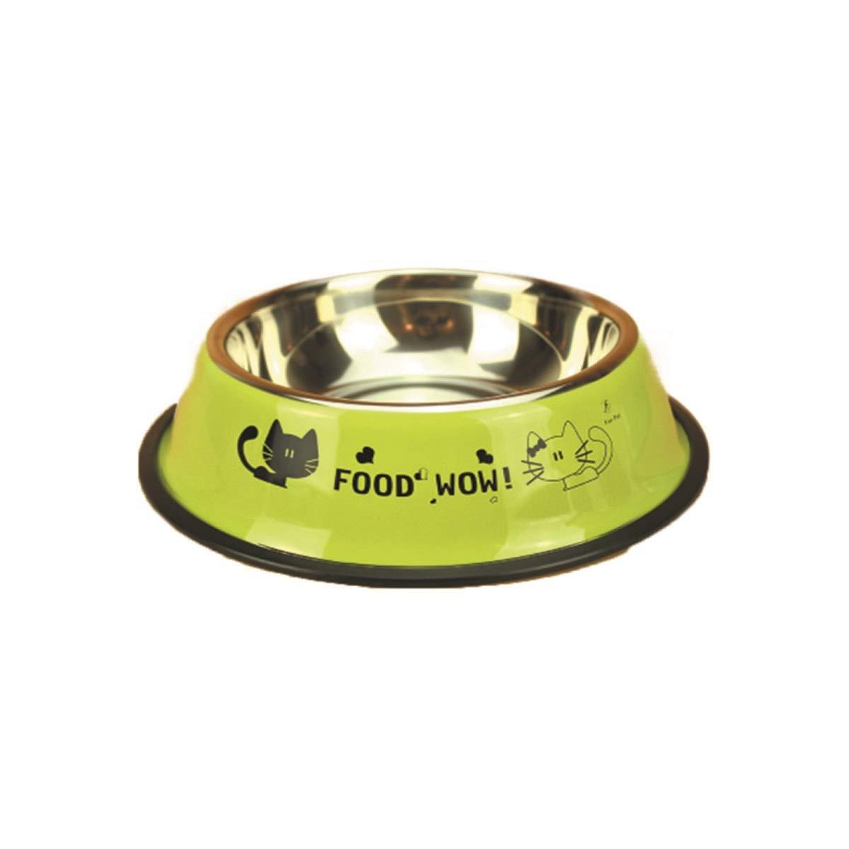 Guyuexuan Cat Bowl, Dog Bowl, Dog Feeder, Q Cat Bowl Vivipet Oblique Mouth Flat Face Cat Pet Cat Bowl Food Bowl Water Bowl Cat Food Eat Ceramic Rice Bowl (color   Pink, Size   S)
