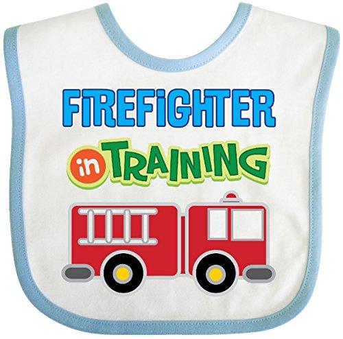 irefighter Kids Fireman Baby Bib White/Blue 2c7da ()