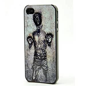 Han Solo Carbonite iPhone 4/4s Case - Hard Plastic Cell Phone Case