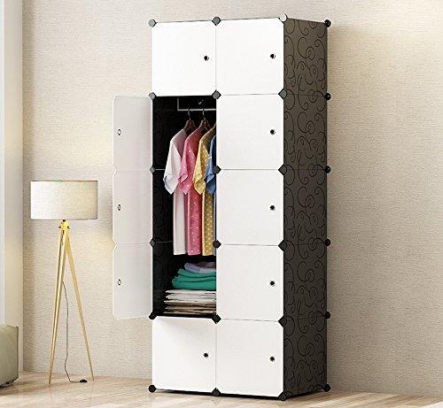 Premag Diy Portable Wardrobe Closet Modular Storage Organizer