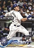 2018 Topps Baseball Series 2#661 Christian Villanueva RC Rookie San Diego Padres Official MLB Trading Card