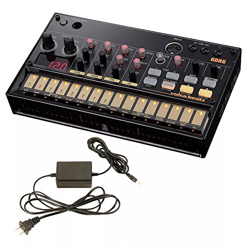 Korg Volca Beats Analogue Rhythm Machine and Korg 9V600MACPP 9v 600ma Power Supply by Korg (Image #3)
