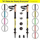 Montem Ultra Strong Hiking/Walking / Trekking Poles - One Pair (2 Poles)