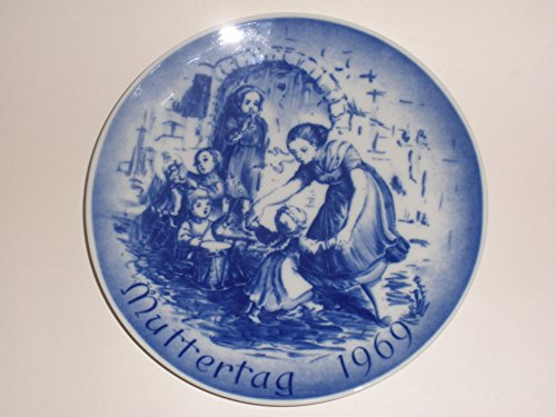1969 Mother's Day Collector's Plate by (Bareuther Mothers Day Plate)
