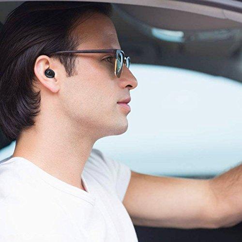 Bluetooth 5.0 Deep Bass True Wireless Headphones, Tranya Sports Wireless Earbuds, Sweat Proof Earphones Built-in Microphone for Running, Gift Box by TRANYA (Image #6)