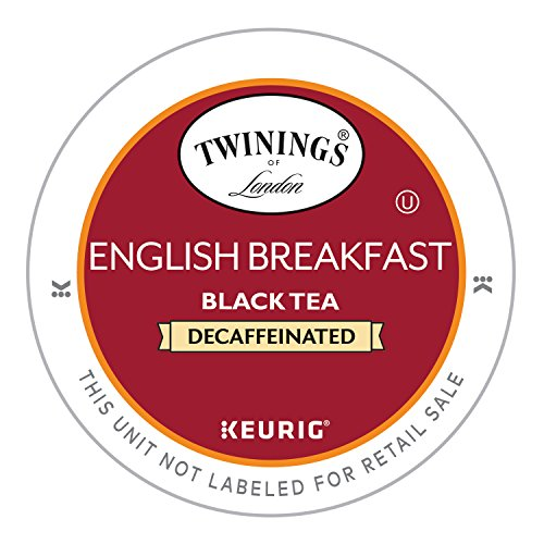 Price comparison product image Twinings English Breakfast Decaf Tea, Keurig K-Cups, 24 Count