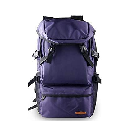 Color : Black Qingduqijian Outdoor Waterproof Travel Large Capacity Backpack Hiking Camping Light Backpack 65L