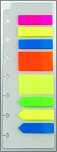 "Staples? Arc Notebook 200 Page Flags, Assorted Colors, 2 1/2"" x 7 1/2"""