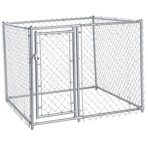 Square Box Fence Playpen Chain Link Grating Stable Outdoor Dog Run Palisade, Fencing Kennel Extra Large Dogs Exercise Pet Pen Rabbit Pig Pets Dogs Dog Kennels, Crates & Carriers ()