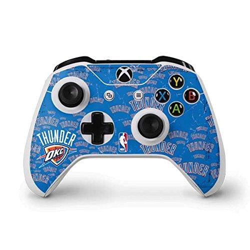 NBA Oklahoma City Thunder Xbox One S Controller Skin - Oklahoma City Thunder Blast Vinyl Decal Skin For Your Xbox One S Controller by Skinit