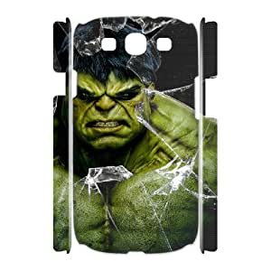 Character Personalised Phone Case Hulk For Samsung Galaxy S3 I9300 NC1Q02384