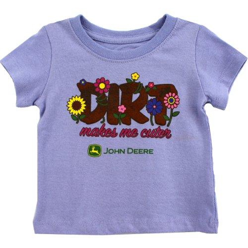John Deere Infant Violet T-Shirt SIS135V ()