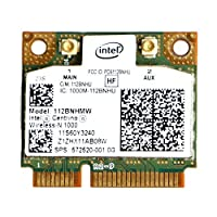 Kocome Intel Centrino Wireless-N 1000 802.11 b/g/n 112BNHMW Half Mini PCI-E Wifi Card