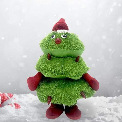 Makluce Christmas Electric Singing and Dancing Christmas Tree Peluches para Decoraciones De Árboles De Navidad, Regalos para Niños Regalos para Niños ...