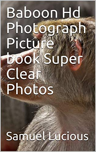 Baboon Hd Photograph Picture book Super Clear Photos for sale  Delivered anywhere in USA