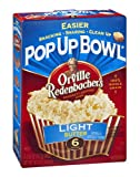 Orville Redenbacher's Popping Corn Pop Up Bowl Light Butter 6 PK (Pack of 18)